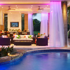 Contemporary Patio by Brantley Photography