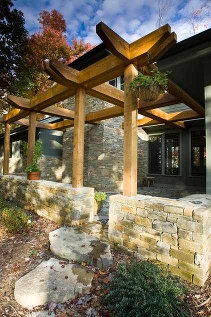 Contemporary Patio by Thomas Lawton Architect