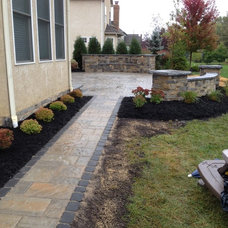 Contemporary Patio by Pony Lawncare and Landscaping