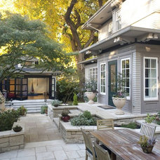 Traditional Patio by Menter Architects LLC