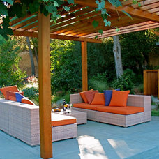 modern patio by Garden Architecture