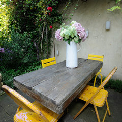 eclectic patio by Beccy Smart Photography