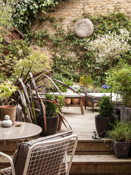 Best patio design ideas remodel pictures houzz for Garden decking jewsons