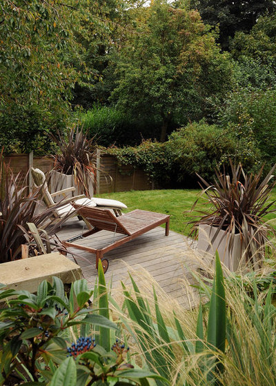 Contemporary Patio by Kate Eyre Garden Design