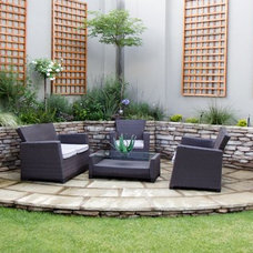 Traditional Patio by The Friendly Plant