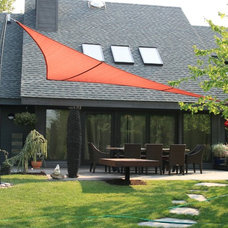Contemporary Patio by Robert  Clapper / Madden Creek Woodworking