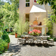 Eclectic Patio by Dave Adams Photography