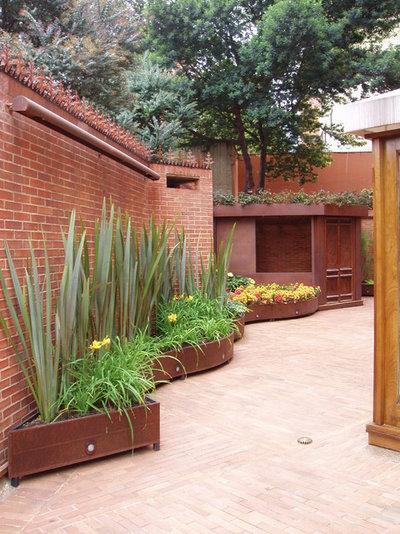 Современный Дворик Garden