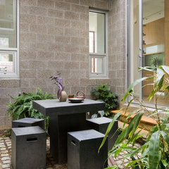 contemporary patio by Erdreich Architecture, P.C.