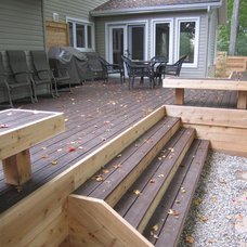Traditional Patio by JWS Woodworking and Design Inc.