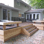 Outdoor Oasis Traditional Patio Toronto By Jackie