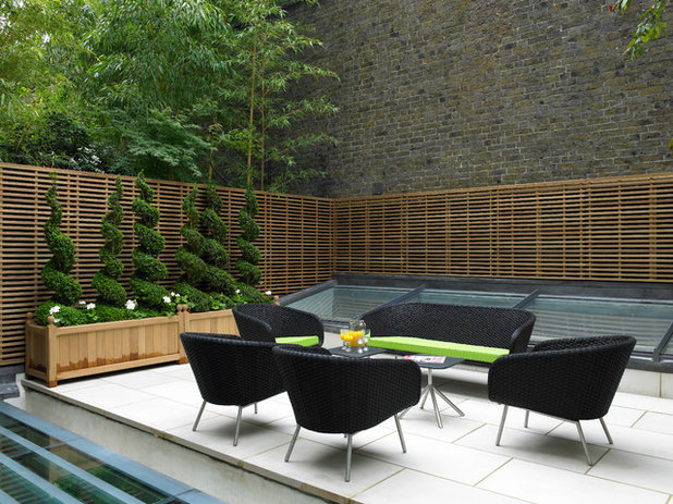 Contemporary Patio by Levitate