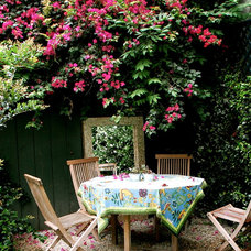 Traditional Patio by Lisa Borgnes Giramonti