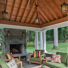 Traditional Patio by Rill Architects