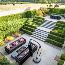 Contemporary Patio by Tom Biddle Design and Photography