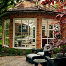 Traditional Patio by Dan Waibel Designer Builder