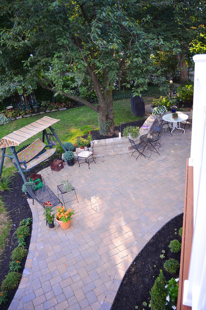 eclectic patio by Amy Renea