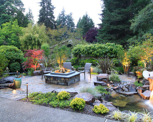 Best Garden Fire Pit Design Ideas Remodel Pictures Houzz