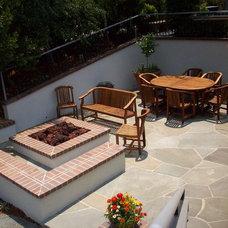 Contemporary Patio by Lazar Landscape Design and Construction