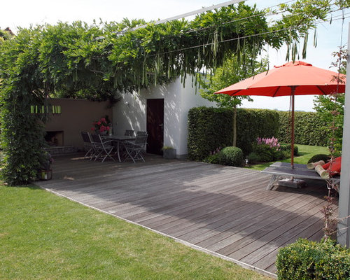 Moderner Patio - Design-ideen & Bilder | Houzz Moderne Patio Ideen Bilder