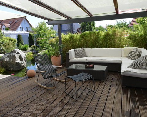 patio mit markisen ideen design bilder houzz. Black Bedroom Furniture Sets. Home Design Ideas