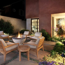 Eclectic Patio by Jeri Koegel Photography
