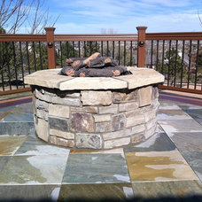 Traditional Patio by Dad's Diversified Corp.