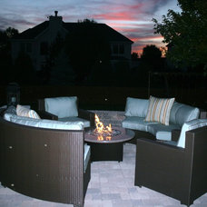 Contemporary Patio by All Backyard Fun