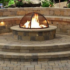 Traditional Patio by Decorative Landscaping