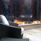 Paver Patio Pergola Fire Pit Seat Wall Lighting