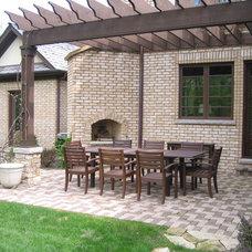 Traditional Patio by Fieldcrest Builders Inc