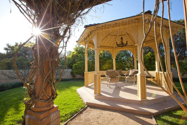 Mediterranean Patio by Evan Travels Photography