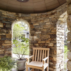 Traditional Patio by Point One Architects
