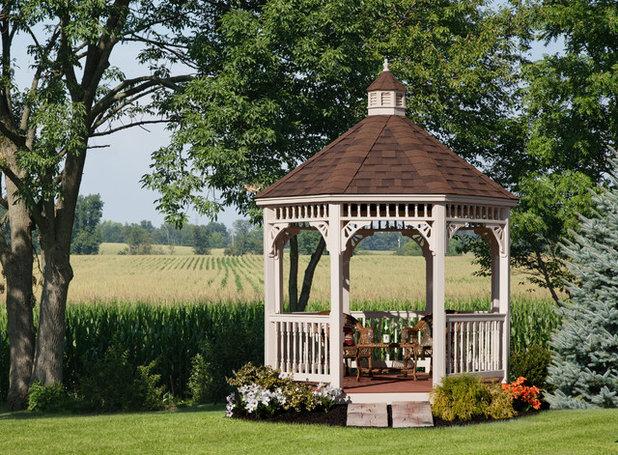 Ein Holzpavillon im Freien – so machen Sie den Gartentraum wahr