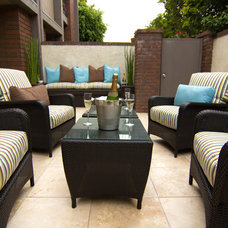 Contemporary Patio by Georgette Westerman Interiors