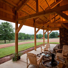 Traditional Patio by Sand Creek Post & Beam
