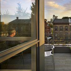 Modern Patio by Brett Webber Architects, PC
