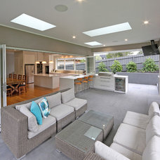 Contemporary Patio by Melbourne Contemporary Kitchens