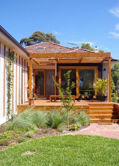 Contemporary Patio by Baker Drofenik Architects Pty Ltd