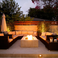 Contemporary Patio by Jamie B. Myer Architects, Inc