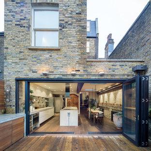 Immagine di un patio o portico minimal