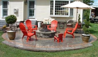 Goffstown NH Paver Patio and Fire Pit