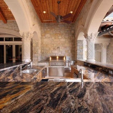 Traditional Patio by The Granite Shop