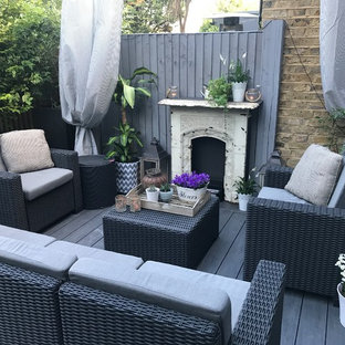 Design ideas for a patio in London.