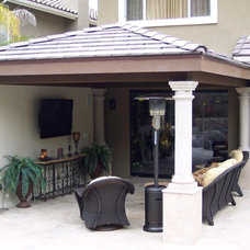 Traditional Patio by Creative Atmospheres, Inc.