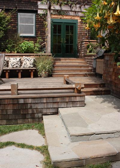Landscape Fabric Under Deck : That gap under the deck hide it or use