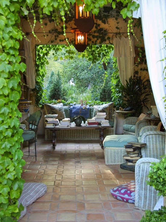 French Country Garden Houzz - French country garden