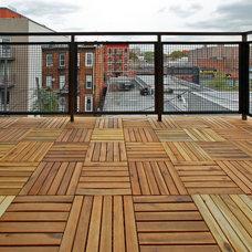 Modern Patio by Tatyana Design LLC
