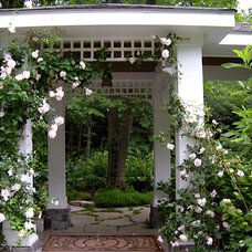 Traditional Patio by Leslie Rohrer