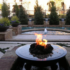 Contemporary Patio by Grand Effects